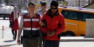 Alanya#039;daki kablo hırsızı jandarmadan kaçamadı