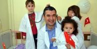Alanya#039;nın minik doktorları
