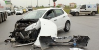 Alanya yolunda feci kaza