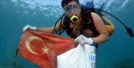 Denizin dibini temizlediler