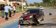 Kaza ucuz atlatıldı: 1 yaralı var