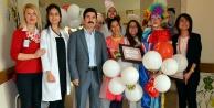 Minik hastalara 23 Nisan sürprizi