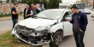 Trafik kazası: 3 yaralı var