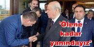 Türkdoğan Devlet Bahçeli#039;ye sahip çıktı