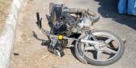 Alanya#039;da motosiklet kazası: Yerde metrelerce sürüklendi