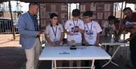 Alanya'da robot yarışları