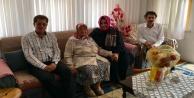 Çelik ve Berberoğlu'ndan şehit annesine ziyaret