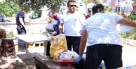 Sözlüsü olan kadın polisi kazara vurdu