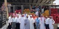 Yaş meyve sebzede Arap baharı