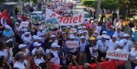 Alanya #039;Adalet Yürüyüşü#039;ne başladı