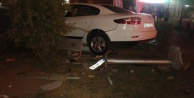 Alanya bayramın ilk trafik kazası