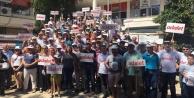 Alanya CHP Gazipaşa'dan yürüyüşe başladı