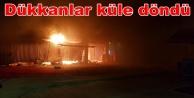 Alanya#039;da korkutan yangın