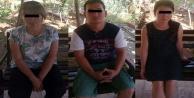 Alanya#039;da yakalanan 3 kişi sınır dışı edildi
