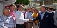 Bakan Çavuşoğlu bayram için baba ocağında