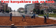 Büyükşehir yolu, belediye peyzajı yapıyor