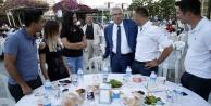 Hakim ve savcılar iftar sofrasında
