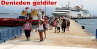 Lübnanlı turistlere Alanya#039;da mehterli karşılama