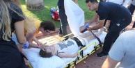 Talihsiz çocuğa yaya geçidinde kamyonet çarptı