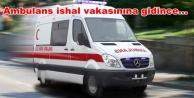 112 servisinin önünde yarım saat ambulans bekledi