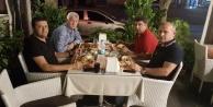 3 başkan yemekte buluştu