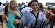 40 ülkeden 105 yabancı öğrenci #039;Ankara#039;nın Bağları#039; ile coştu