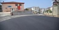 Alanya Belediyesi#039;nden okul yoluna asfalt