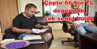 Alanya Belediyesi temizlik işçisinden örnek davranış