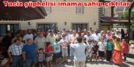 Alanya#039;da cami cemaati eylem yaptı: Hocamız masumdur