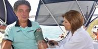 Şişme botla 90 günlük yolculuk Alanya#039;da son buldu