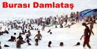 Alanya#039;da plajlar doldu taştı
