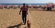 Alanya#039;da plajlarda güvenlik önlemi artırıldı