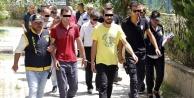 Alanya#039;da şok operasyon: 1#039;i kadın 14 kişi gözaltında