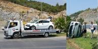 Alanya tünellerde kaza: Facianın eşiğinden dönüldü