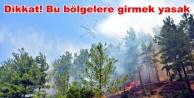 Alanya#039;ya flaş yangın uyarısı!