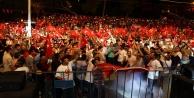 Antalya#039;da meydanlar doldu taştı