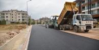 Belediyeden hastane yoluna sıcak asfalt
