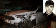 Genç adam trafik canavarı kurbanı oldu