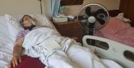 Hastanede vantilatörlü serinlik