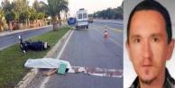Motosiklet kazası: 1 ölü var