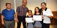 Öğrenciler sertifikalarını aldılar
