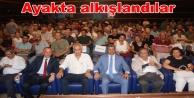 Takavut Öztürk#039;e Alanya#039;yı anlattı