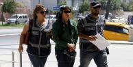 Terör şüphelisi o kadın Alanya#039;da yakalandı