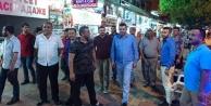 Türkdoğan esnafın sorunlarını dinledi