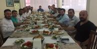 Ülkücü işçilerden yemekli tanışma toplantısı