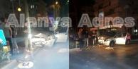 Alanya#039;da alkollü sürücü dehşeti