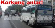 Alanya#039;da feci kaza: 2 ağır yaralı var