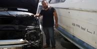 Alanya#039;da mobilya ustasının hayalleri yandı