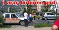 Alanya#039;da zincirleme trafik kazası: Yaralılar var