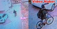 Alanya#039;daki bisiklet hırsızı kameralara yakalandı